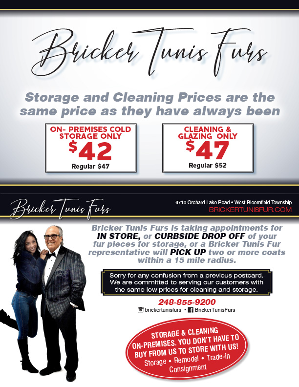 Storage and cleaning prices are the same they have always been